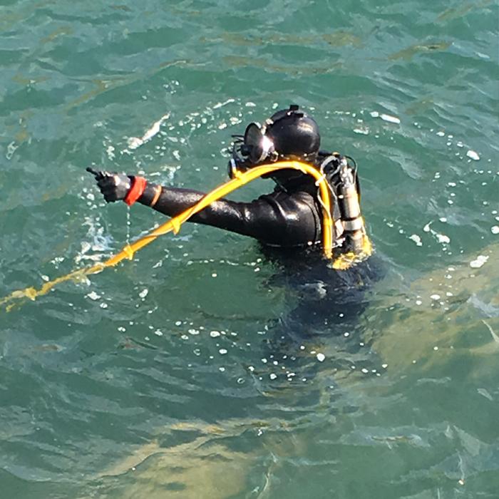 港湾土木全般、潜水調査、探査、水中溶接、切断、防舷材、タラップ施工、水中撮影、潜水機材、各種機械販売