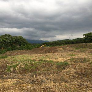 丸山建設 施工実績|直方市中泉太陽光発電所造成工事